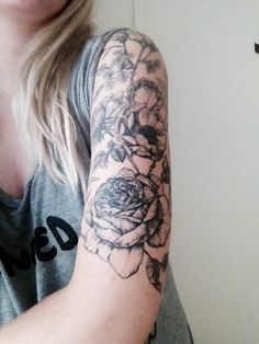 Arm tattoo for girl