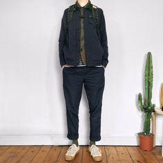 David Whitfield - Beams Jacket, Universal Works Under Jacket, Comme Des Garçons Garcons, Nigel Cabourn, Novesta - ???? Instagram: @dvd_ian