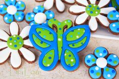 LilaLoa: Butterfly Cookies Tutorial
