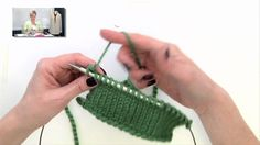 """Knitting Help - """"Backwards"""" (or """"Mirror"""") Knitting: never do a purl row again - But requires practice!"""