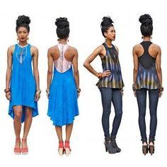 Robe ou top femme Simone - patron couture - Patrons et tutoriels de couture chez…