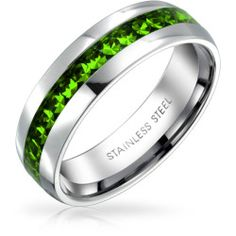 stainless-steel-comfort-ring-peridot_swk-r-001-pd_9 Best Deal Bling Jewelry Summer Days Band