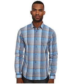 Save on Vince Space Dyed Plaid