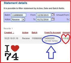 WITHDRAWAL PROOF FROM ADCLICKXPRESS NO74  This is my 74th withdrawal proof from AdclickXpress. ACX is definitely the best online marketing program on the web. It is easy; you don't need previous experience with online programs on the web. You just need to log in, click and collect your money! With ACX you can withdraw your commission daily! Work from home 15 minutes a day, make money and cover your low salary or make it full-time job income. NO SCAM with ACX! Start here…