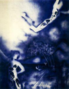 "thirdorgan: "" Yves Klein (France, 1928 - 1963) http://www.yveskleinarchives.org/works/works1_fr.html """