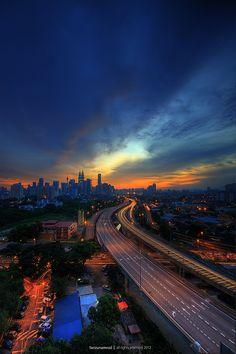 """500px / Photo """"Kuala Lumpur Trail"""" by farizun amrod"""