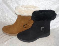 St. John's Bay boots faux suede Cole faux fur cuff Women's size 7.5, 8, 10 NEW 29.99 http://www.ebay.com/itm/St-John-s-Bay-boots-faux-suede-Cole-faux-fur-cuff-Womens-size-7-5-8-10-NEW-/261833981327?ssPageName=STRK:MESE:IT