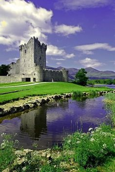 Ross Castle, Killarney National Park, County Kerry, Ireland