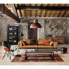 Living Room Designs Inspiration - 35 Best Modern Rustic Living Room Decor Ideas You Need To Design Example. Living Room Furniture, Living Room Decor, Furniture Stores, Loft Furniture, Furniture Websites, Furniture Market, Deco Furniture, Furniture Vintage, Decor Room