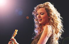 Taylor Swift during Speak Now concert/tour.
