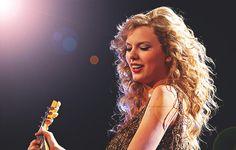 Taylor Swift during Speak Now concert/tour.