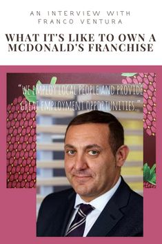 I chat to Franco who runs 3 McDonald's restaurants in Rotherham. He talks about his full business journey and his joy of supporting local business and people. Mcdonald's Restaurant, Support Local Business, Employment Opportunities, Very Excited, Pinterest Marketing, What Is Like, Social Media Marketing, Restaurants