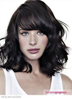 Chic Texturised Medium Haircut - Medium Long Hairstyles Pictures