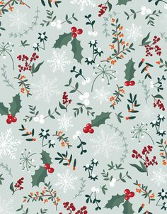 Handillustrated Seamless Vector Retro Christmas Holiday Stock Vector (Royalty Free) 1216703539 - Trend Topic For You 2020 Christmas Phone Wallpaper, Winter Wallpaper, Holiday Wallpaper, Christmas Decorations To Make, Christmas Themes, Christmas Holidays, Christmas Crafts, Winter Background, Christmas Background