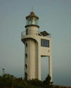 Farol de Nanpengdao, Mar do sul da China,  Yangjiang, região de Guangdong, China.