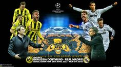 Borussia Dortmund vs Real Madrid Champions League