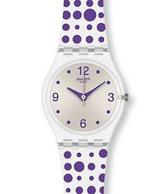 Swatch Purple Darling Ladies Watch