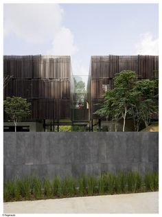 For a private residence in Singapore, Shanghai-based architecture firm Neri&Hu Design and Research Office pays homage to the client's. Residential Architecture, Contemporary Architecture, Architecture Details, Interior Architecture, Interior Design Images, Interior Design Boards, Facade Design, Exterior Design, Habitat Collectif