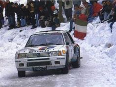 Peugeot 205 Turbo 16 driven by Ari Vatanen with Terry Harryman to win the 1985 Monte Carlo Rally..