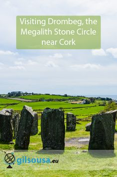 Drombeg Circle, one of the most important megalith stone circles in Ireland. Just one hour from Cork city, perfect for a day trip escape. Cork City, Europe Travel Tips, Paris, Historical Sites, World Heritage Sites, Day Trip, Where To Go, Cool Places To Visit, Trip Planning