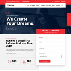 Clean, Modern, Functional and Professional Joomla Template That is Specially Designed for Industrial and Business Websites JD Coax is a highly Responsive . Catalog Shopping, Joomla Templates, Quick Quotes, Product Catalog, Admin Panel, Running Quotes, Business Website, Extensions, Create Yourself