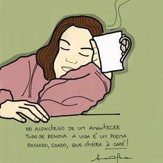 Coffee Break, Coffee Time, Coffee Cups, Love Cafe, Haha, Lettering, Comics, Memes, Instagram