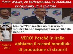 Mauro fa battute...
