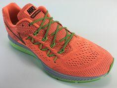 SR4U Grid Neon Yellow/Black Premium Soccer Laces on Nike Zoom Vomero 10