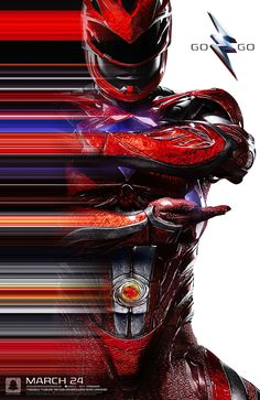 Power Rangers (2016) NYCC Poster - Red Ranger