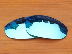 Polycarbonate-Ice Blue Replacement Lenses For Juliet Sunglasses Frame 100% UVA & UVB Protection
