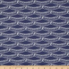 Designed by Bari J. for Art Gallery Fabrics, this cotton print is perfect for quilting, apparel and home decor accents. Art Gallery Fabric features 200 thread count of finely woven cotton. Colors include muted navy and white. Drapery Fabric, Silk Fabric, Vinyl Fabric, Art Gallery Fabrics, Fabulous Fabrics, Discount Designer, Accent Decor, Fabric Design, Printing On Fabric