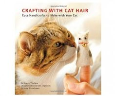 Crafting with Cat Hair! This is a real book. I'm cracking up.