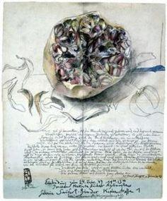 horst jansen prints and posters Botanical Drawings, Botanical Art, Horst Janssen, Illustrator, Plant Painting, Artist Sketchbook, Unusual Art, Gouache, Fine Art Auctions
