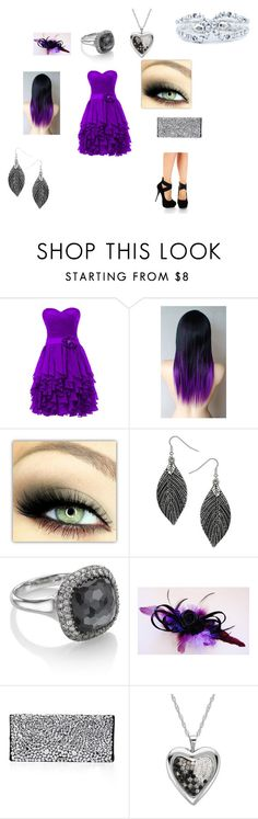 """prom night"" by aylin-cas ❤ liked on Polyvore featuring Dorothy Perkins, Astley Clarke, BCBGMAXAZRIA and On Aura Tout Vu"