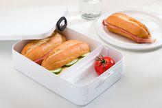 Lekker broodjes in de lunchbox Take a Break large