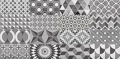 Metro is a collection of wall tiles with beveled edges. Its many retro colors offer a variety of possible layouts with vibrant patterns. / Metro est une collection de carreaux muraux en bicuisson aux bordures biseautées et aux couleurs rétros offrant aussi des mélanges aux motifs vibrants. CIOT HABITAT-MURS ET DOSSERETS-METRO