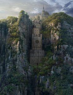 Hidden Castle, Yong Park on ArtStation at https://www.artstation.com/artwork/YoZgb
