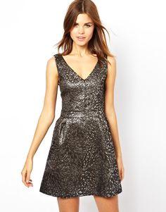 A Wear   A Wear Jacquard Dress at ASOS