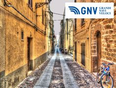 #sardinian scene in a narrow #street of #Alghero old #town   Discover #GNV routes from/to #PortoTorres here: http://www.gnv.it/en/ferries-destinations/porto-torres-ferries-sardinia.html