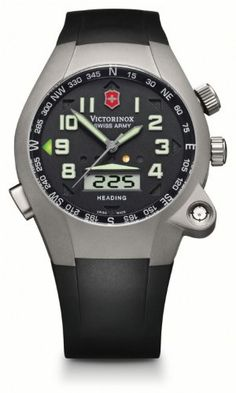 e0513310c0 Amazon.com: Victorinox Swiss Army Active ST 5000 Digital Compass Men's  Quartz Watch 24837: Watches