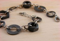 Chain Bracelet Hardware Jewelry Industrial eco by additionsstyle