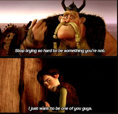 """My heart broke at this part. Hiccup's voice goes up (almost like it's cracking) on the word """"guys"""" and it always gets me. I live you soooooo much, Hiccup!!!!!!!!!!"""