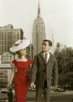 Barbie and Ken in New York