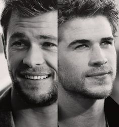 """and then god said, """"let there be hemsworth brothers."""""""