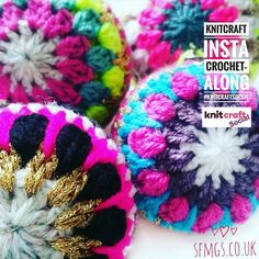 Insta Knitcraft Social CAL!  Soooo... here it is awesome #crochetersofinstagram... the SFMGS Christmas bauble pattern! Join in with our Knitcraft Social crochet Christmas bauble workshop tomorrow and make a bauble using this pattern... or your own! ... and tag your work with #knitcraftsocial. Repost and share and let's see how much gorgeous sparkly Christmassy goodness we can collect to coo over!  you can also get the full pattern with lots of pretty pics on the blog www.sfmgs.co.uk link in…