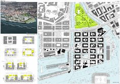 It's a three-way tie for the competition to develop the urban conceptual design for the Delta and Porto Baros area in Rijeka, Croatia. The international call-for-...