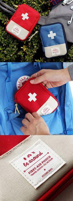 Erste-Hilfe-Tasche / Die kleinen Helfer immer griffbereit. Travel Must Have