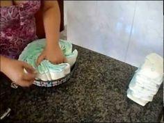 Bolo de fraldas super fácil de fazer passo a passo - YouTube