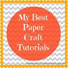 My Best Paper Craft Tutorials
