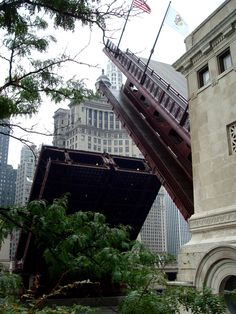 Michigan Avenue Bridge, Chicago.